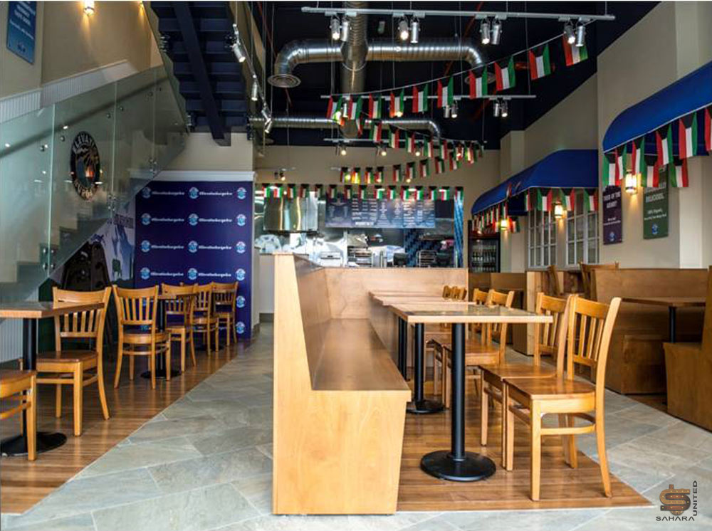 Wood Elevation Burger : Project detail page